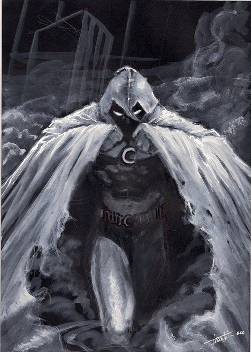 Moon Knight by Luca Strati