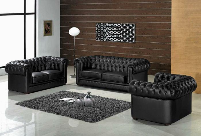 impressionnant fauteuil de salon en cuir