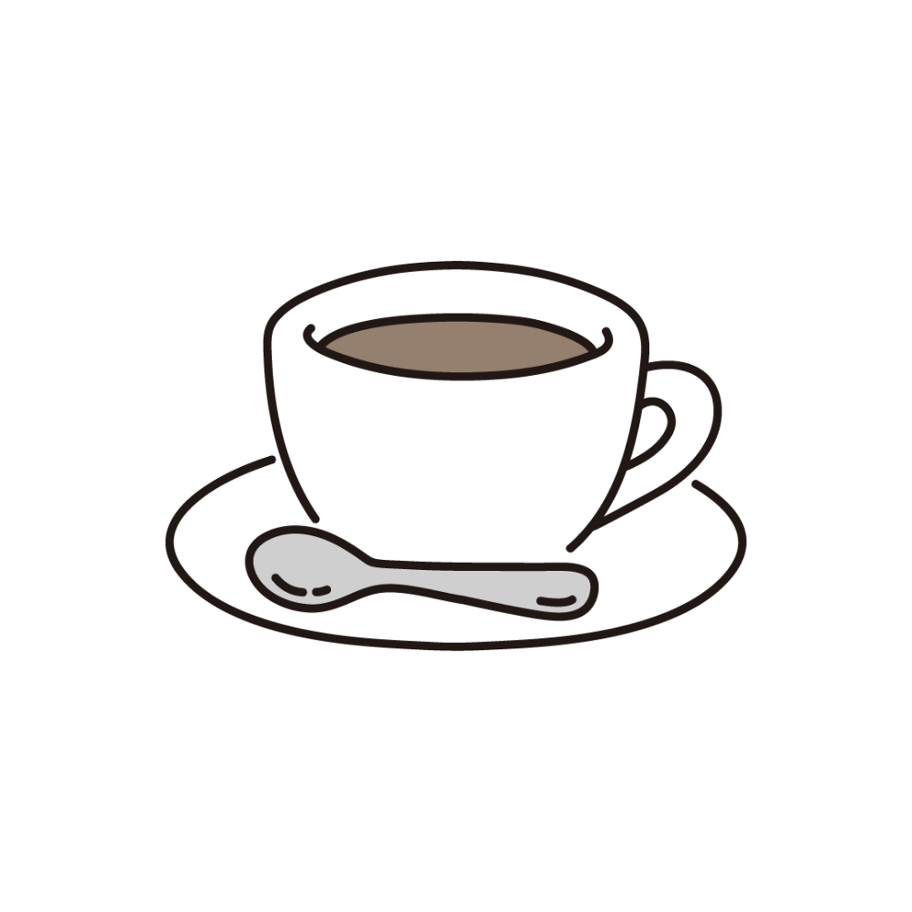 コーヒー コーヒーカップのイラスト フリーのイラスト素材集 ソコスト 2020 コーヒーカップ イラスト カフェイラスト コーヒーカップ