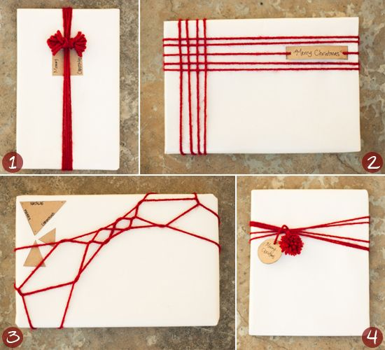diy gift wrapping ideas images | DIY Wrapping Ideas: Homemade & Eco-Friendly Christmas Gift Wrap