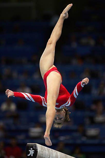 shots Girls gymnastics crotch