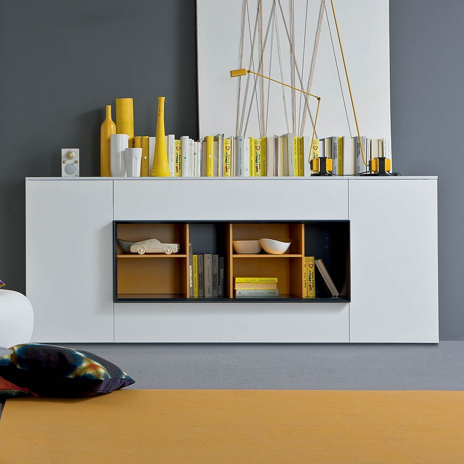 sideboard hungar by santarossa minimalist and modern in. Black Bedroom Furniture Sets. Home Design Ideas