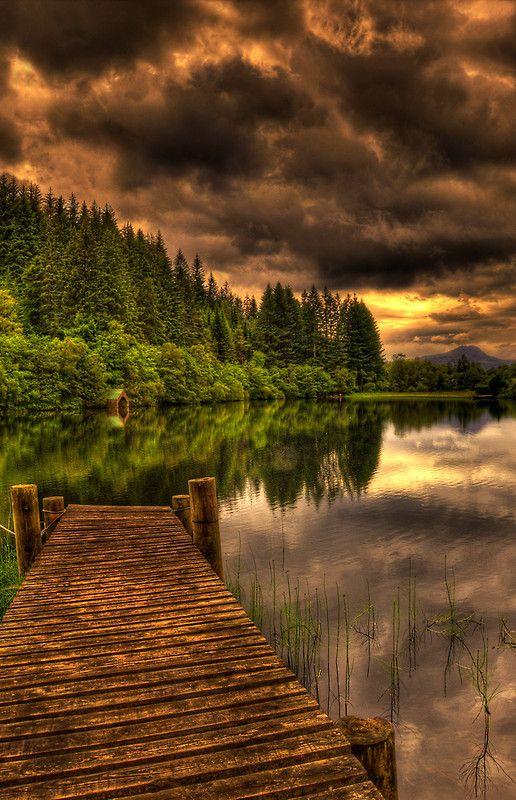 Journey into Loch Ard by Don Alexander Lumsden ~ Scotland