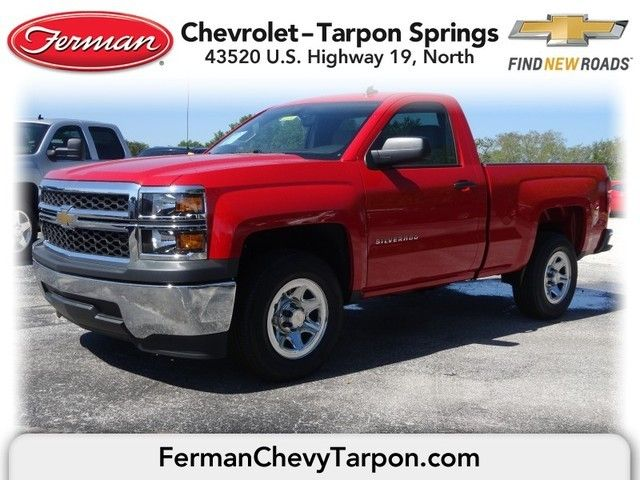 2014 Chevrolet Silverado 1500 Work Truck Regular Cab 4x2 Red