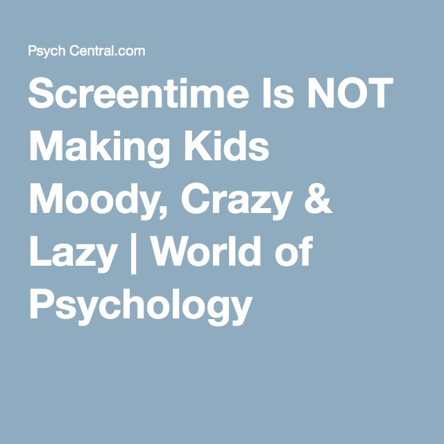 Screentime Is Making Kids Moody Crazy >> Screentime Is Not Making Kids Moody Crazy Lazy Autumn Screen