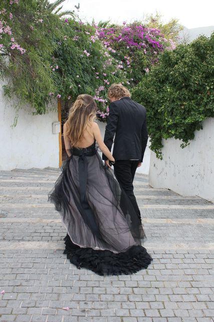 Claire La Faye dress. Megan Despain photography, shot in Ibiza.