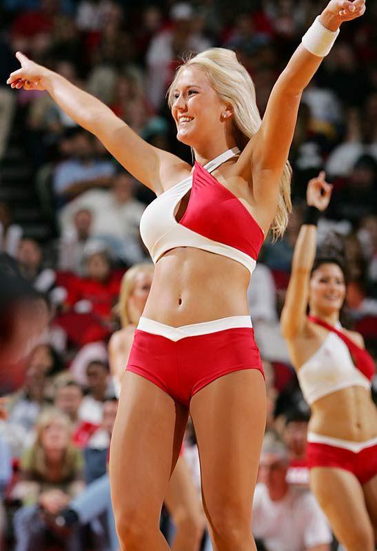 Sexy basketball cheerleaders