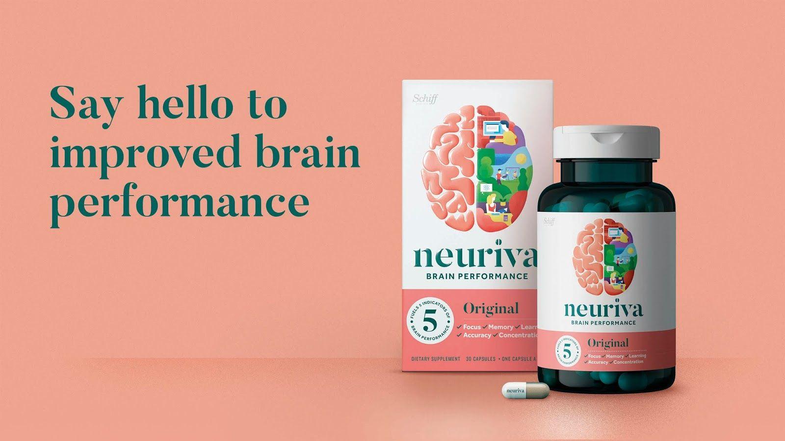 Neuriva Packaging Design Identity Packaging Design Inspiration