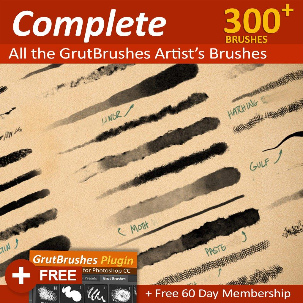 Art Brushes Complete 450 Photoshop Brushes Photoshop Brushes