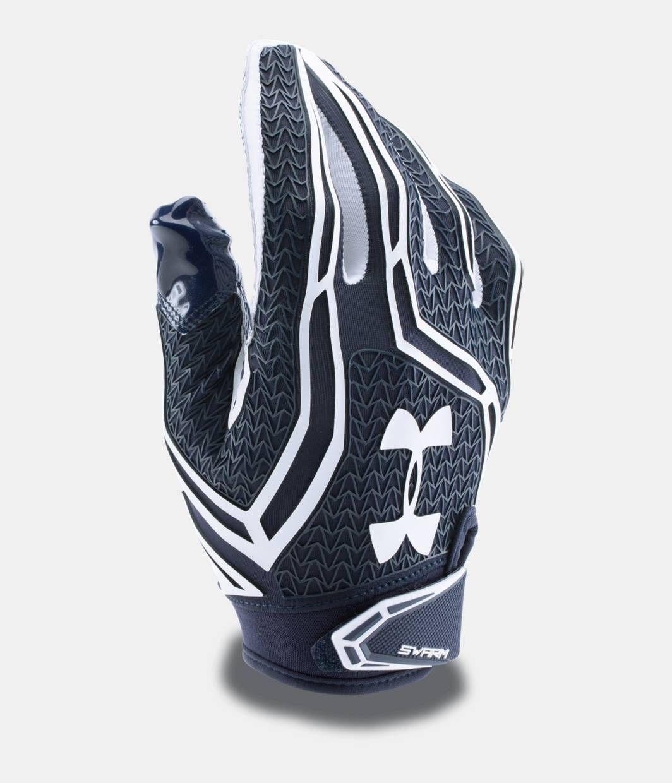 Mens ua swarm ii football gloves under armour us