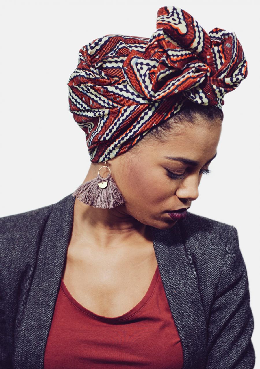 Turban flexible wax L'Africaine ASSA 38,00 € Head