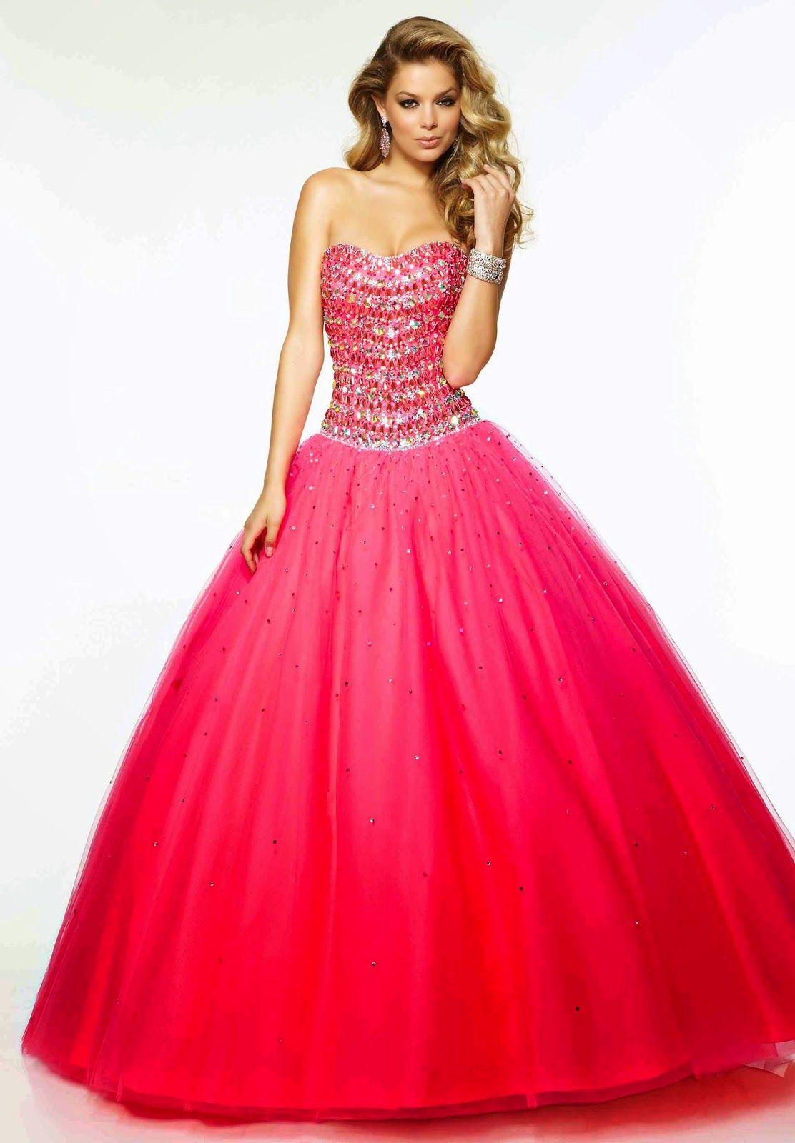 Moda Para Fiestas De Quinceañeras Bonitos Vestidos De