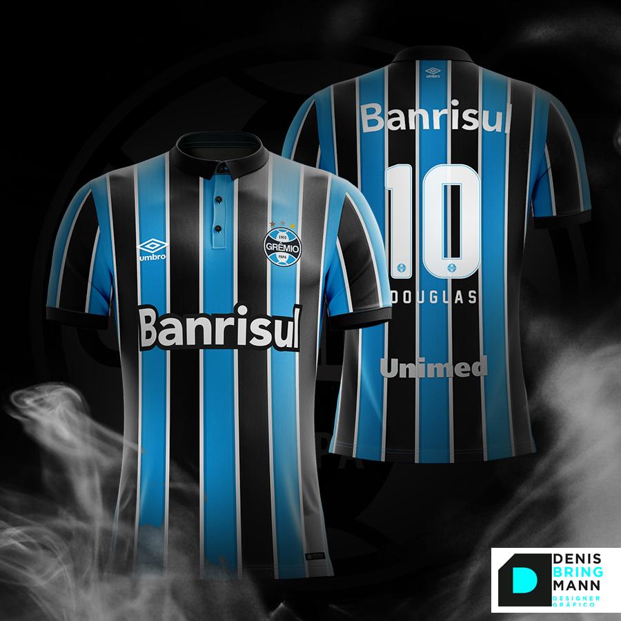 Grêmio  Futebol  Soccer  Tricolor  Mockup  Uniforme  faf7d9e6a76ea
