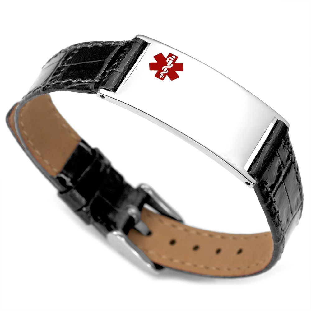 Free Medical Alert Bracelets  Men's Medical Sport Strap Bracelets Men's  Medical Usb Bracelets