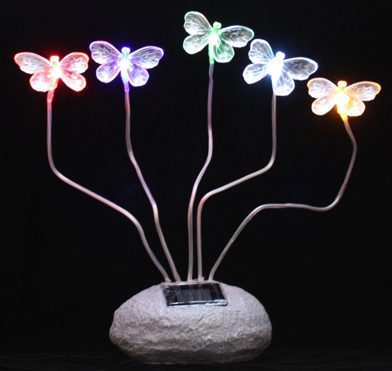 Solar Garden Decor Lights | Butterfly, Dragonfly, Fairies U0026 Flowers