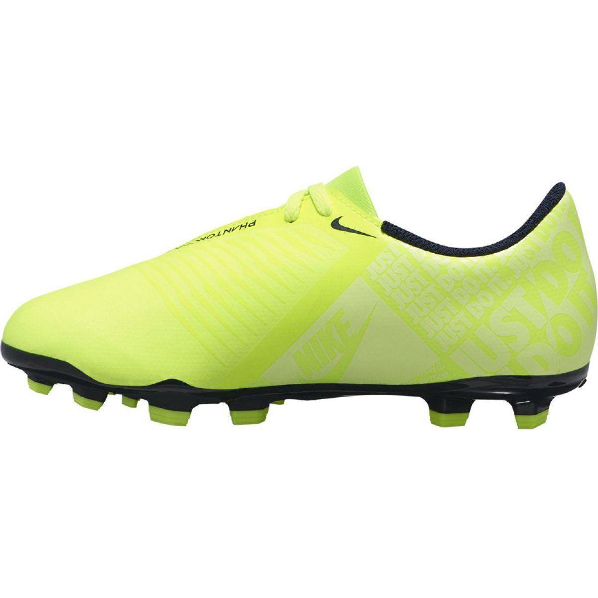 Buty Pilkarskie Nike Phantom Venom Club Fg Jr Ao0396 717 Zolte Zolte Futebol