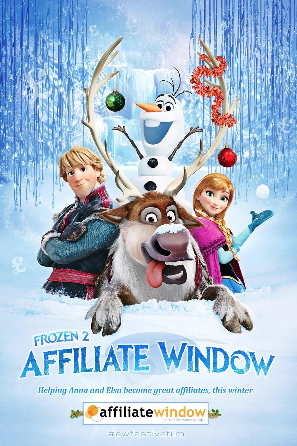 Richard Harper on in 2020 Frozen movie, Frozen poster