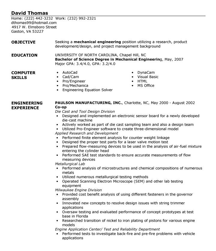 20 of the best ideas for computer technician resume