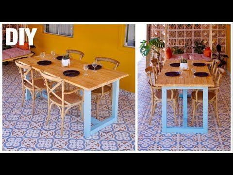 DIY - Mesa de Jantar para 6 lugares ( Fácil de Faz...