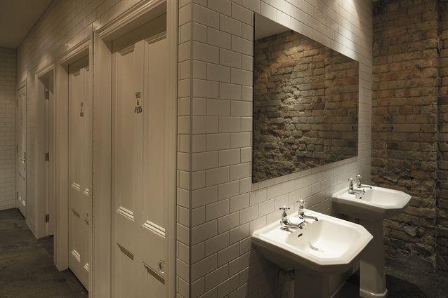 York Street Mechanics Unisex Bathroom Restroom Remodel Gender Neutral Toilets