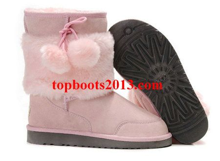 UGGs Wholesale New 5899 Classic Short Pink Boots Lovely