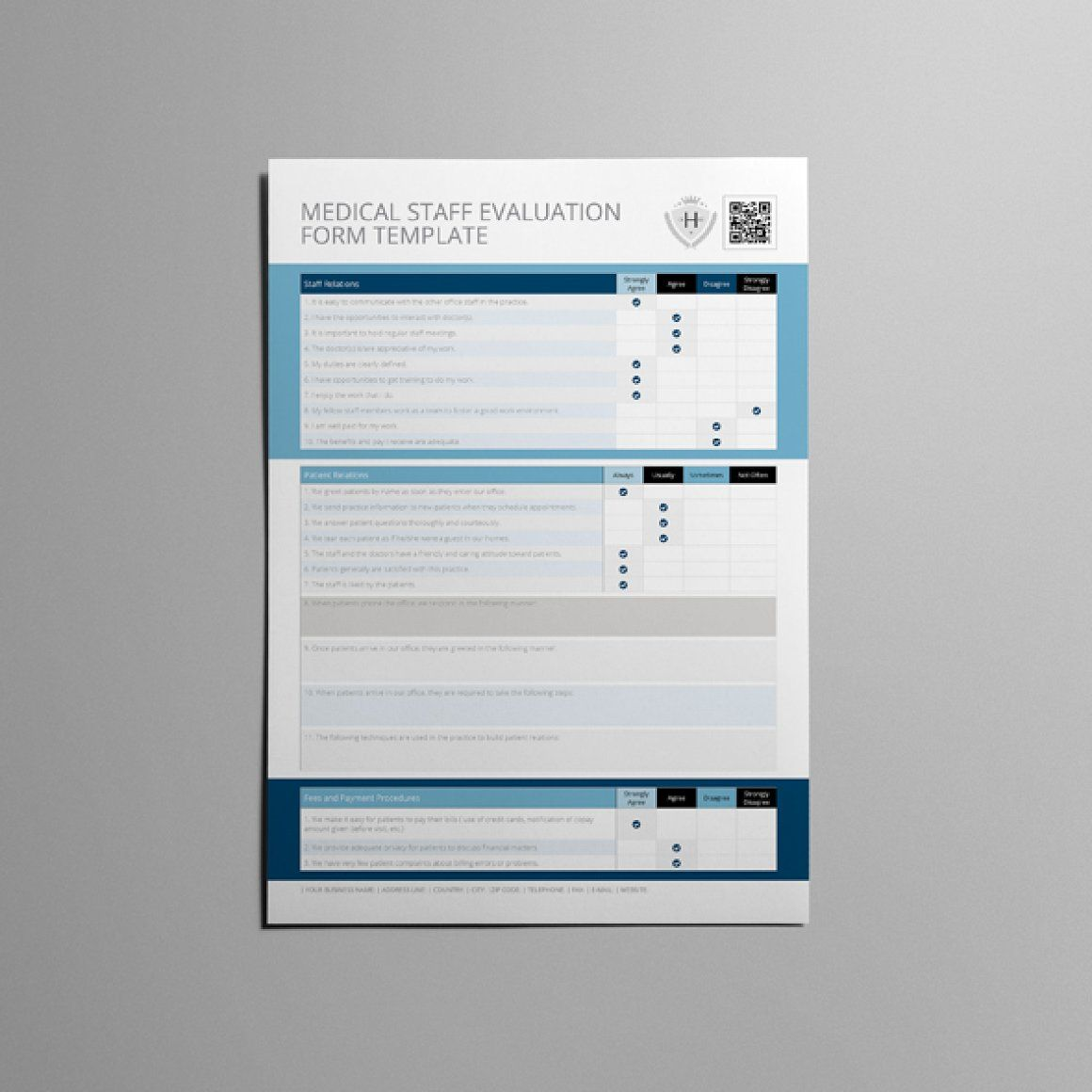 Interview Evaluation Form A  Templates  Templates