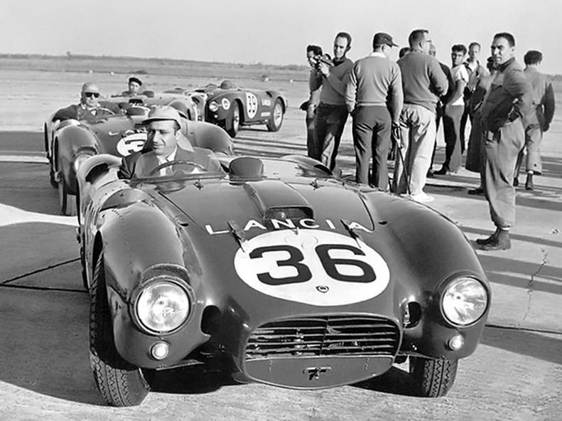 Juan Manuel Fangio Lancia D24 Spider Sport 1953 1954 0 Autos