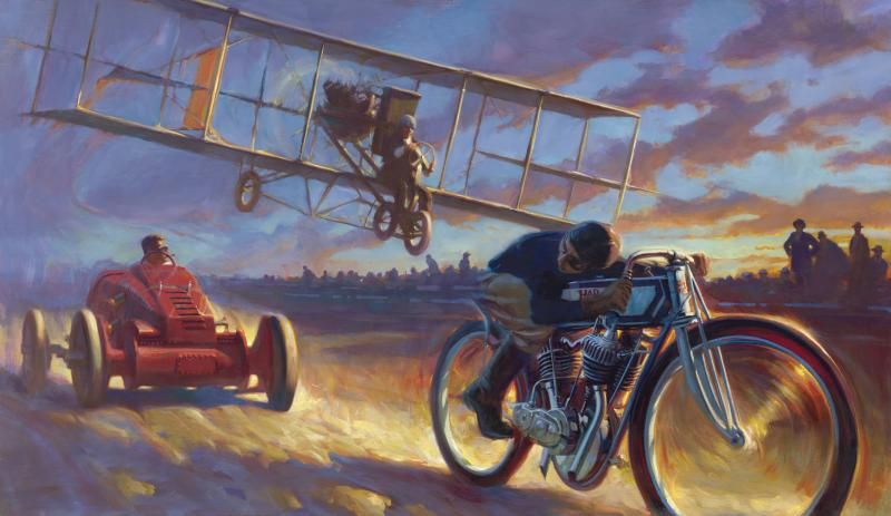 """""""The Need For Speed"""" - Limited Editions - All Artwork - David Uhl 