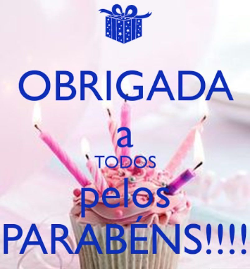 Pin De Maria Luiza De Andrade Camandoni Em Feliz Aniversário Thank