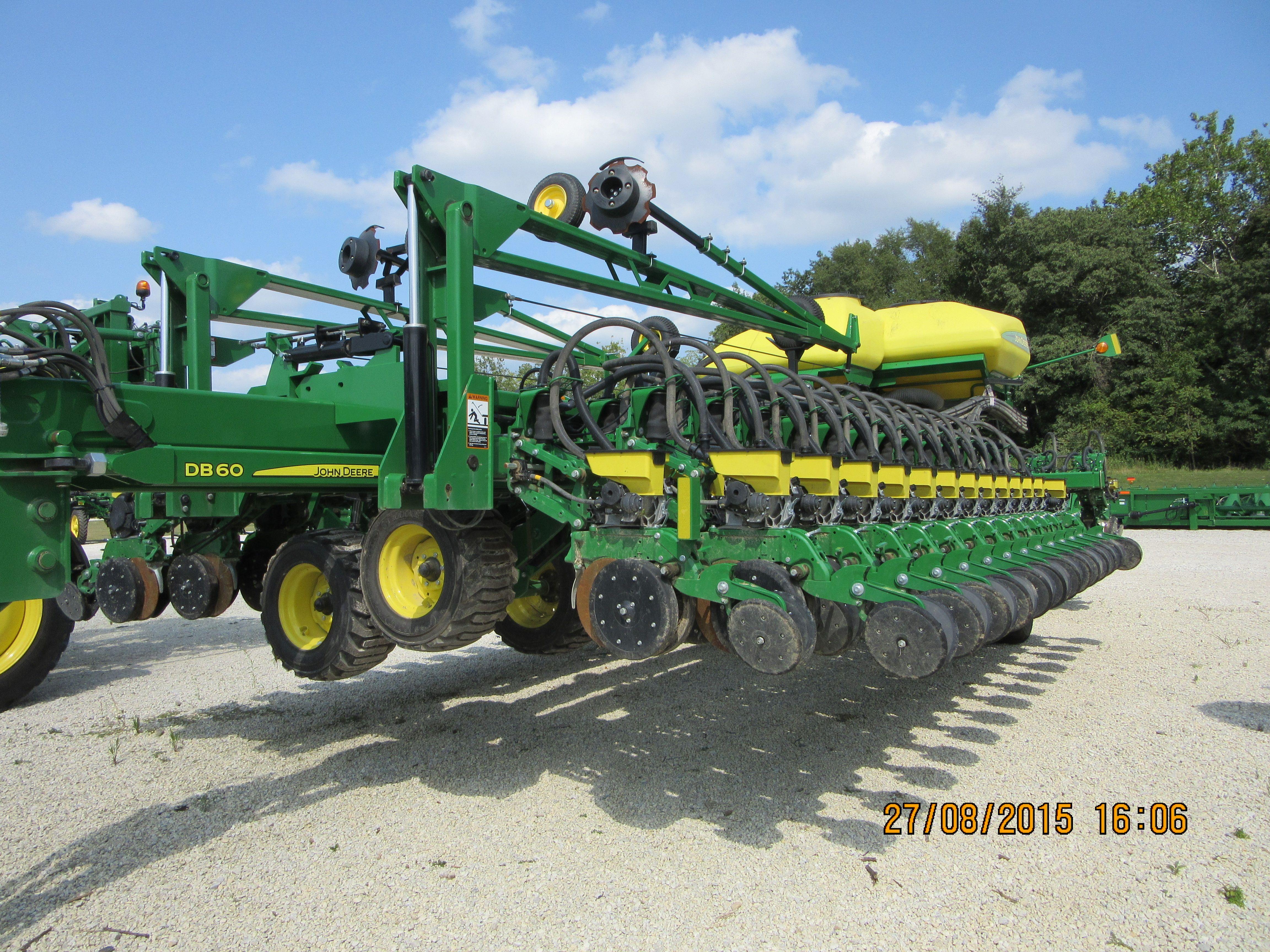 Biggest Seeder Of John Deere: 72 Row John Deere DB60 Planter