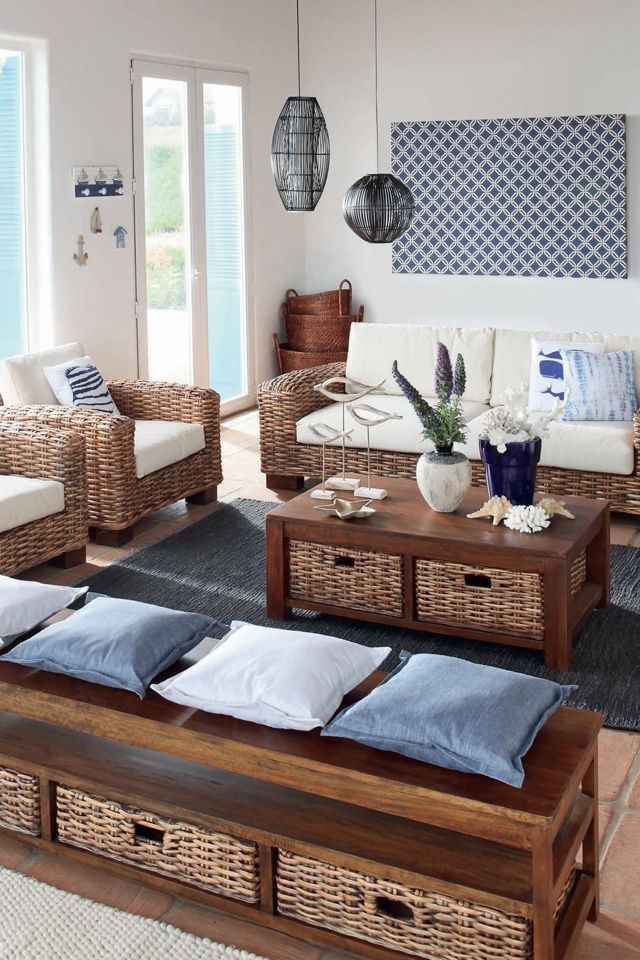 Inspiracion en mimbre any place is a good place to for Decasa muebles y decoracion