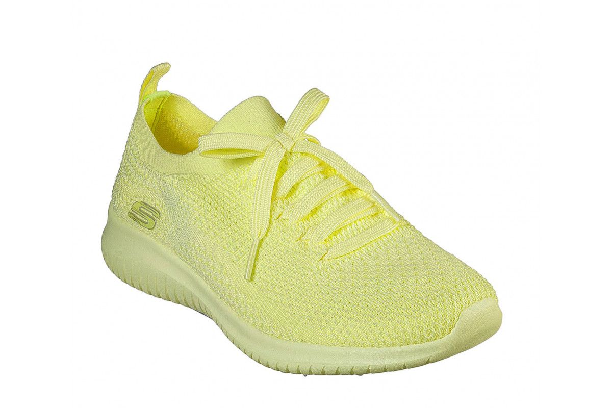Aislar Roux mineral  Skechers Ultra Flex Pastel Party Yellow Memory Foam Womens Trainers -  KissShoe | Trainers women, Skechers, Skechers women