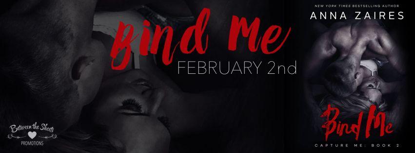 BIND ME by Anna Zaires  RELEASE BLITZ