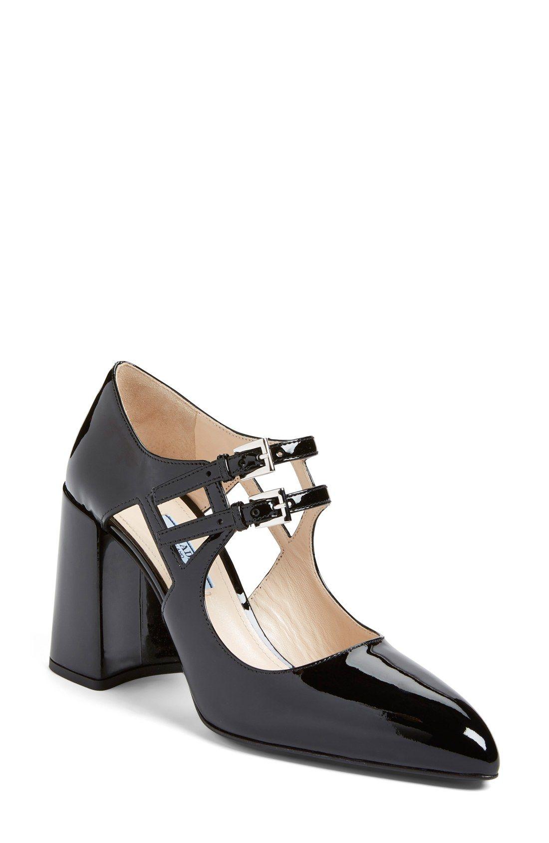 bbfe1ab8c Prada Double Mary Jane Pump (Women) | Fashion Products | Mary jane ...