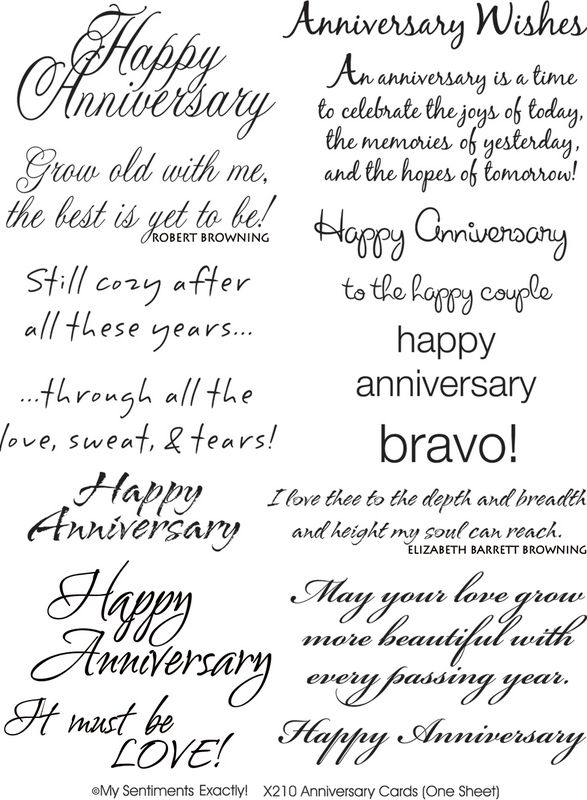 Anniversary Sentiments With Images Anniversary Card Sayings
