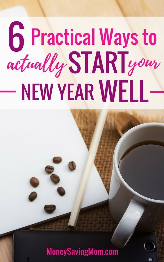 Want to start your New Year well? Check out these 6 simple tips you can put into action right now! #newyear #2020 #goalsetting