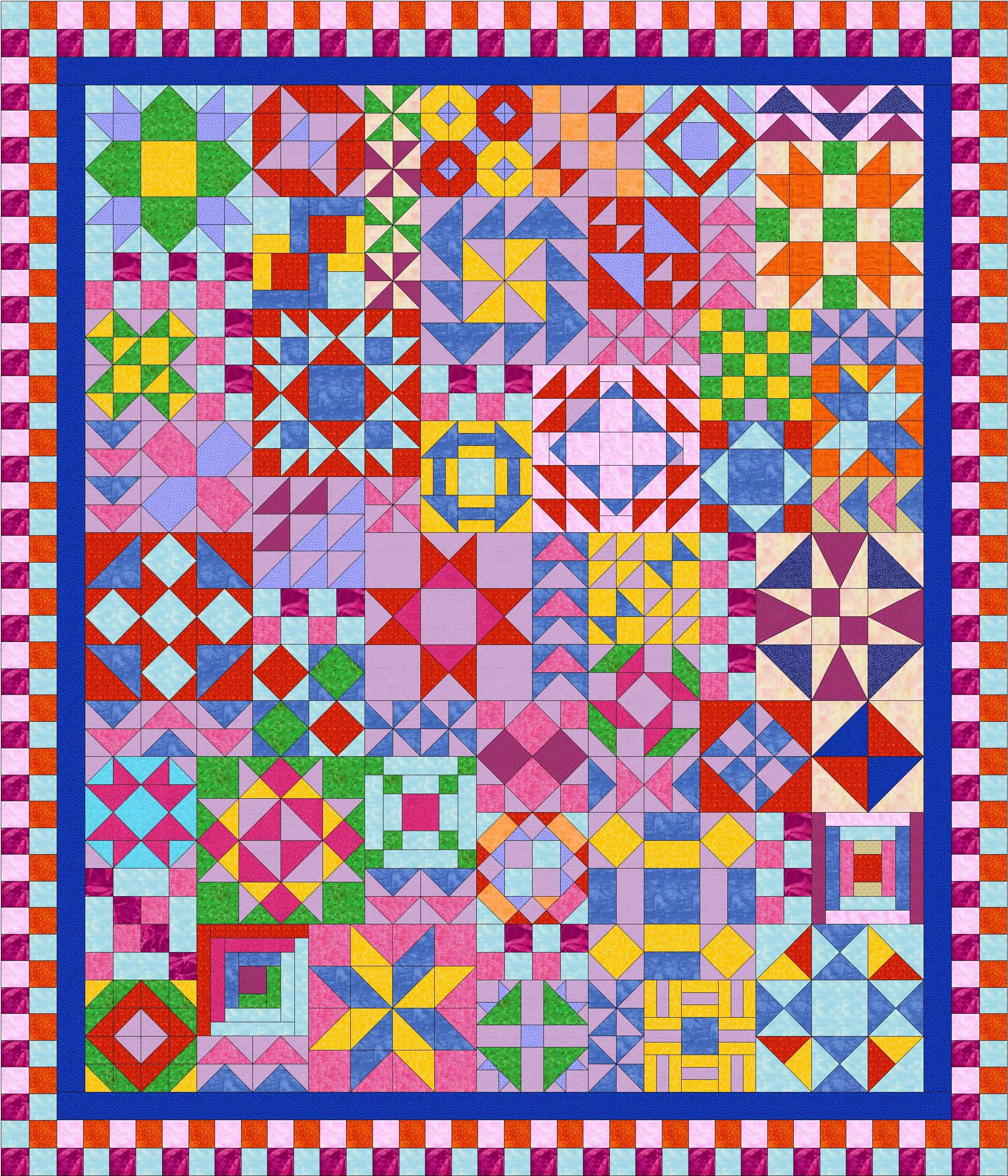 Biblical Blocks - Free Quilt Block Patterns