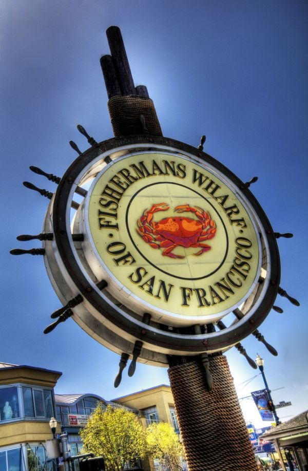 Fishermans Wharf San Francisco Ca We Love Going Here Everytime Are In Great Place To Have Some Chowder A Sourdough Bowl