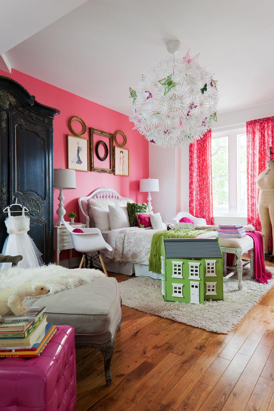 girls room shot for canadian family for flik by design donna