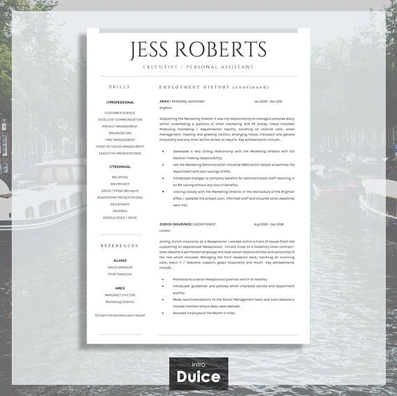 This super easy to edit, Professional CV Template / Professional