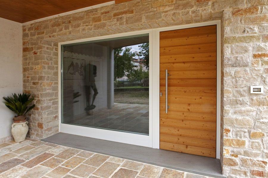 Portoni d 39 ingresso con vetrate cerca con google idee - Portoni di casa ...