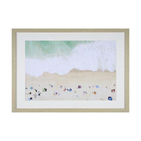 Beach Framed Print | Kmart | Rosebud bedroom | Pinterest | Beach ...
