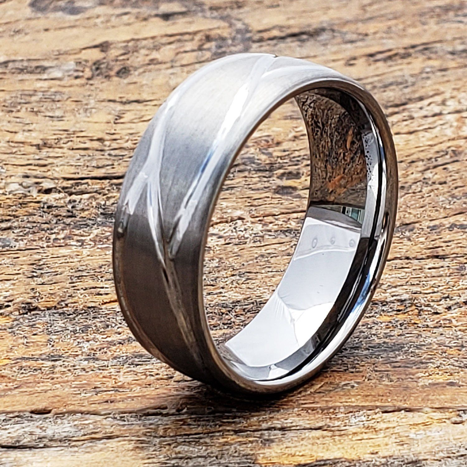 Mens Wedding Band Carved Mens Ring Mens Tungsten Ring Etsy Tungsten Mens Rings Mens Wedding Bands Men S Wedding Ring