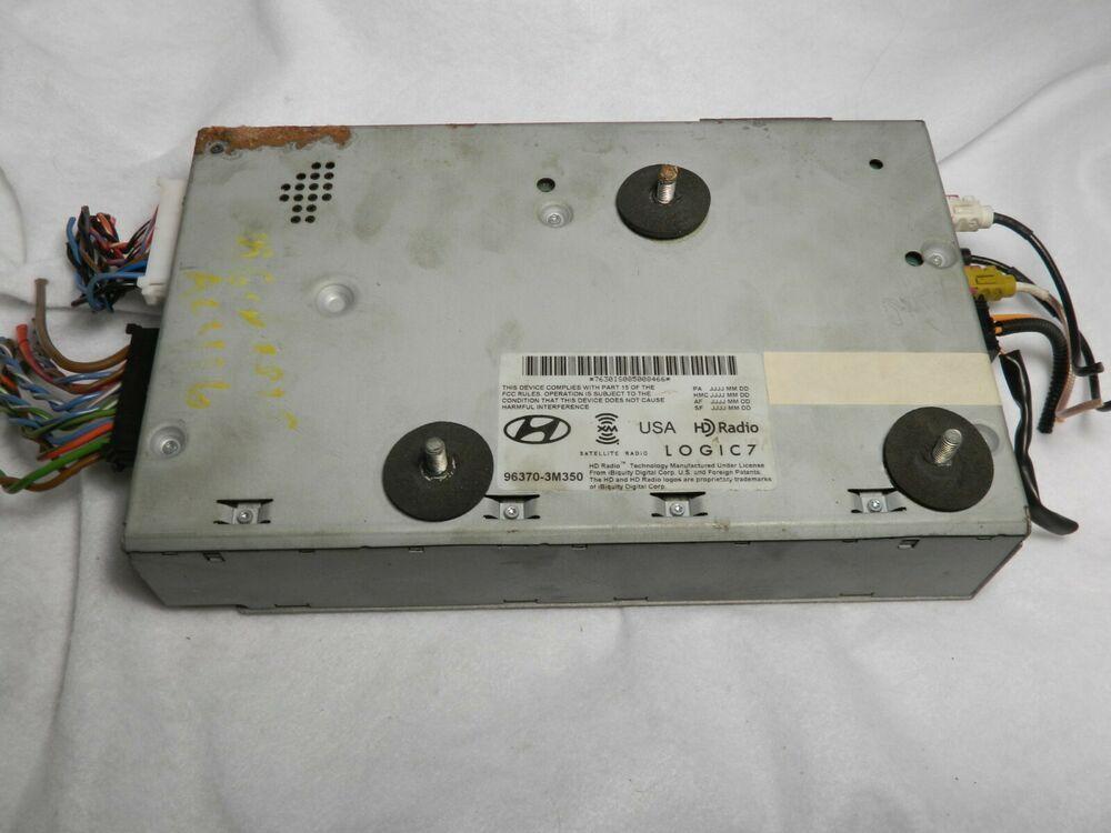 09 13 Hyundai Genesis Stereo Radio Audio Amplifier Logic 7 96370 3m350 Ebay Audio Amplifier Hyundai Genesis Amplifier