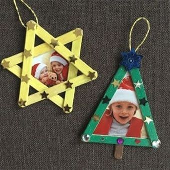 Making Christmas decorations with children, #ArtAndCraftforkids #crafts #children #with #Christmas ...