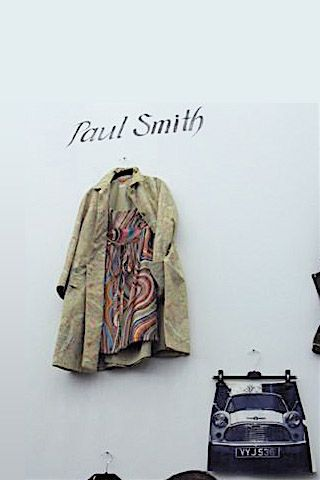 Love this Paul Smith jacket and dress! Saw this on the South Granville Bacci's website.