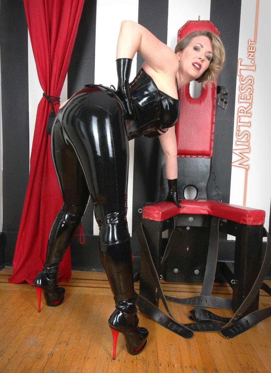 Mistress in latex