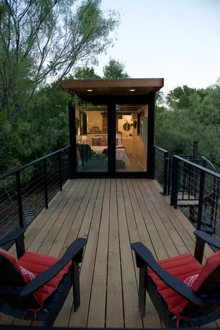 The Helm Shipping Container Cabin By Cargohome Tiny