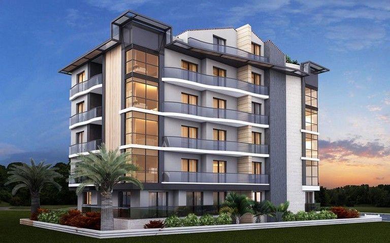 38 Charming Apartment Building Facade Design Ideas #apartment