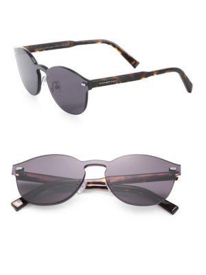 f3e705ffe4 ERMENEGILDO ZEGNA 143Mm Tortoise Round Sunglasses.  ermenegildozegna   sunglasses